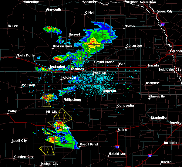 Radar Image for Severe Thunderstorms near Miller, NE at 6/20/2020 7:57 PM CDT