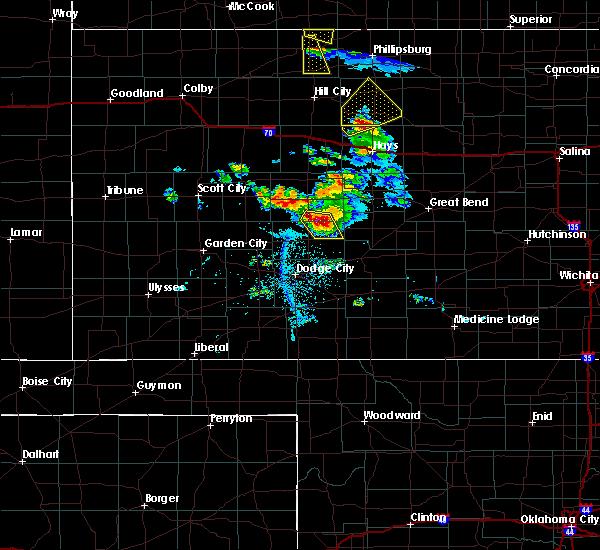 Radar Image for Severe Thunderstorms near Hanston, KS at 6/20/2020 8:00 PM CDT