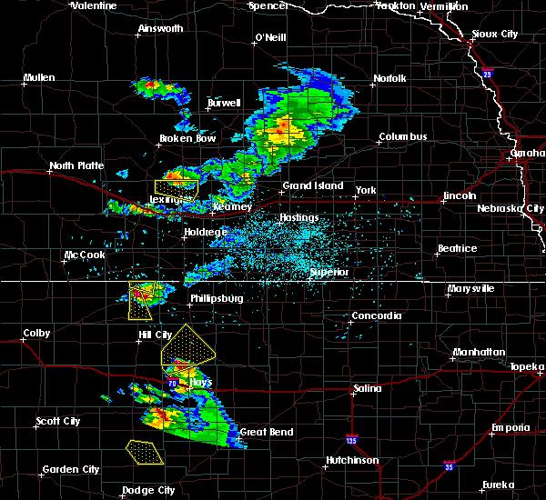Radar Image for Severe Thunderstorms near Stockton, KS at 6/20/2020 8:03 PM CDT