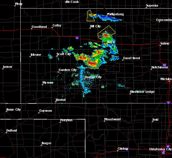 Radar Image for Severe Thunderstorms near Hanston, KS at 6/20/2020 8:15 PM CDT