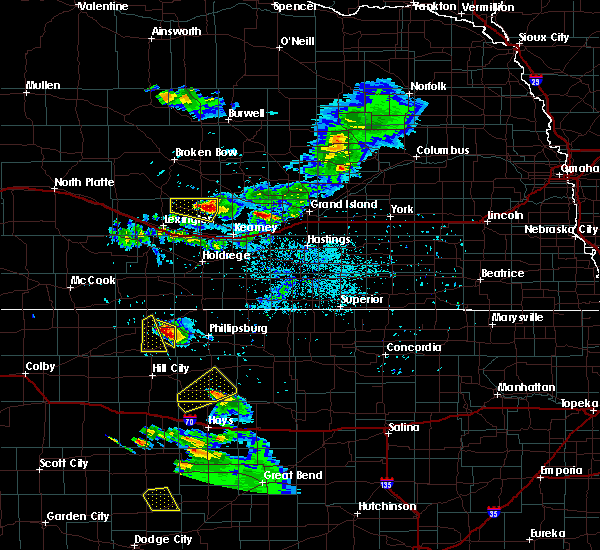 Radar Image for Severe Thunderstorms near Miller, NE at 6/20/2020 8:23 PM CDT