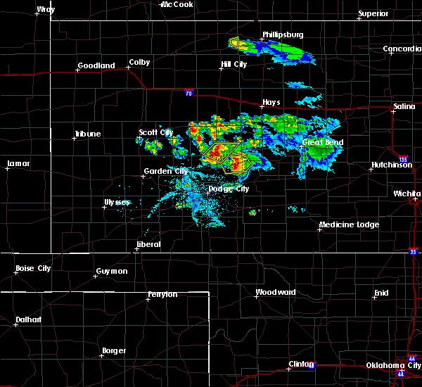 Radar Image for Severe Thunderstorms near Hanston, KS at 6/20/2020 9:00 PM CDT