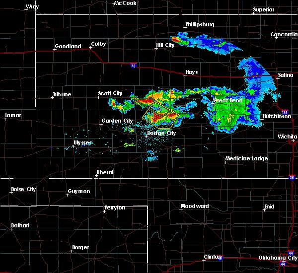 Radar Image for Severe Thunderstorms near Hanston, KS at 6/20/2020 9:36 PM CDT