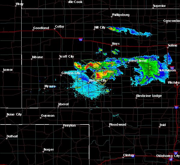 Radar Image for Severe Thunderstorms near Hanston, KS at 6/20/2020 10:11 PM CDT