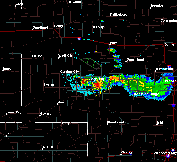 Radar Image for Severe Thunderstorms near Ford, KS at 6/21/2020 12:16 AM CDT