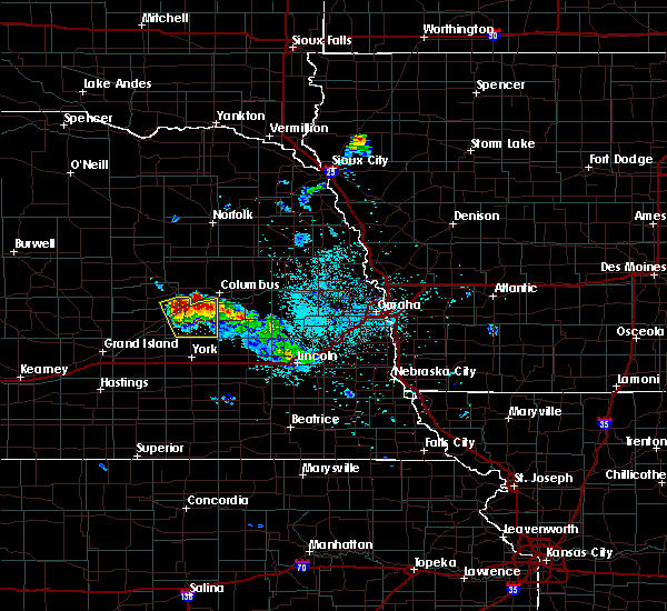 Radar Image for Severe Thunderstorms near Silver Creek, NE at 6/21/2020 1:19 AM CDT