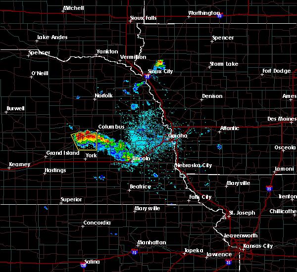 Radar Image for Severe Thunderstorms near Duncan, NE at 6/21/2020 1:20 AM CDT