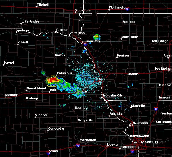 Radar Image for Severe Thunderstorms near Duncan, NE at 6/21/2020 1:38 AM CDT