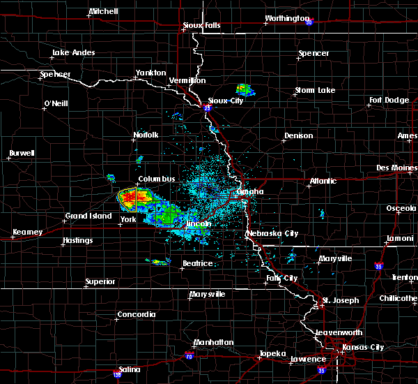 Radar Image for Severe Thunderstorms near Osceola, NE at 6/21/2020 1:50 AM CDT