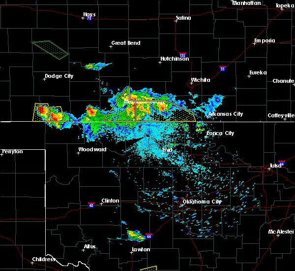 Radar Image for Severe Thunderstorms near Sharon, KS at 6/21/2020 2:13 AM CDT