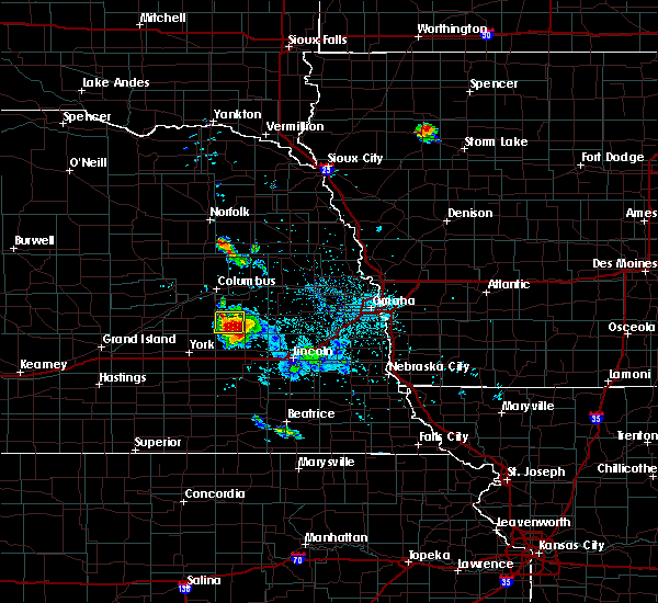 Radar Image for Severe Thunderstorms near Pleasant Dale, NE at 6/21/2020 2:30 AM CDT