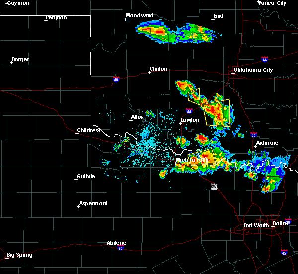 Radar Image for Severe Thunderstorms near Sugden, OK at 6/21/2020 4:40 AM CDT