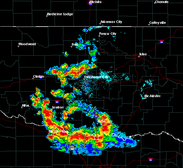 Radar Image for Severe Thunderstorms near Forest Park, OK at 6/21/2020 6:17 AM CDT