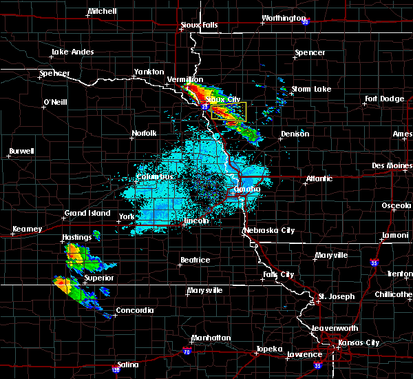 Radar Image for Severe Thunderstorms near Pierson, IA at 6/21/2020 6:32 AM CDT