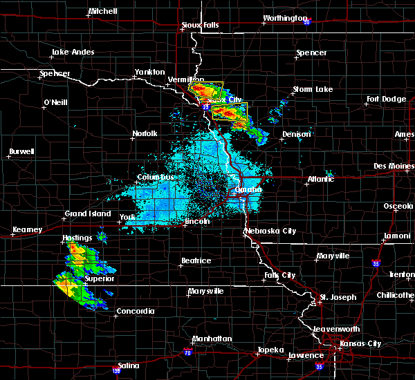 Radar Image for Severe Thunderstorms near Anthon, IA at 6/21/2020 6:46 AM CDT