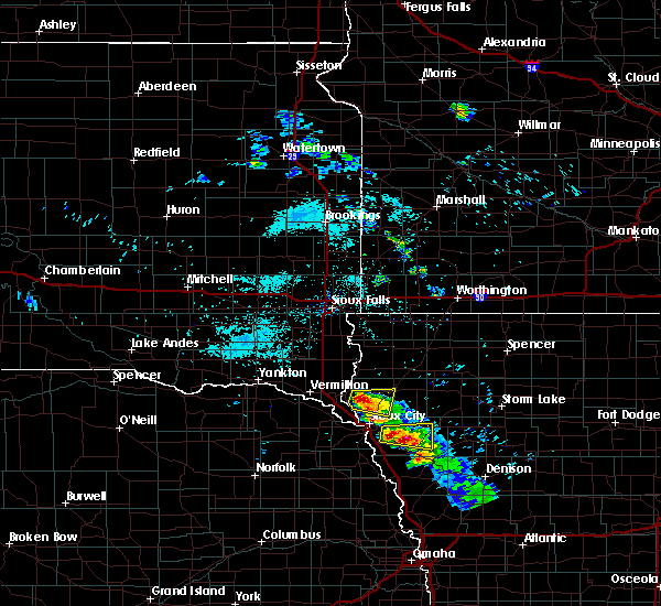 Radar Image for Severe Thunderstorms near Le Mars, IA at 6/21/2020 6:49 AM CDT