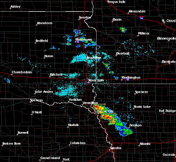 Radar Image for Severe Thunderstorms near Brunsville, IA at 6/21/2020 6:49 AM CDT