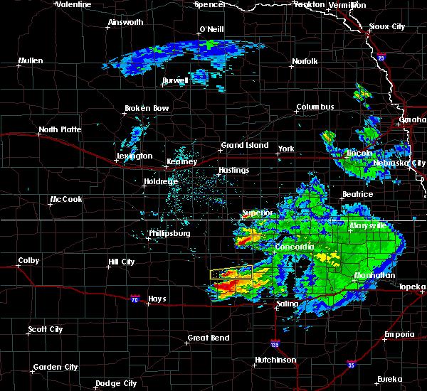 Radar Image for Severe Thunderstorms near Hunter, KS at 6/21/2020 12:24 PM CDT