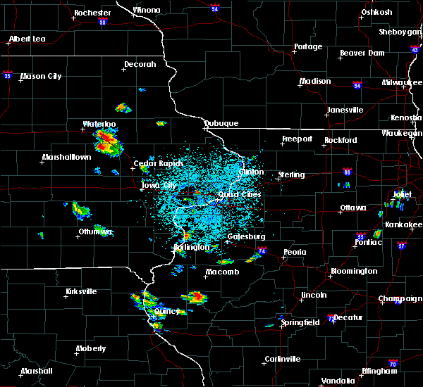Radar Image for Severe Thunderstorms near Brandon, IA at 6/21/2020 1:24 PM CDT