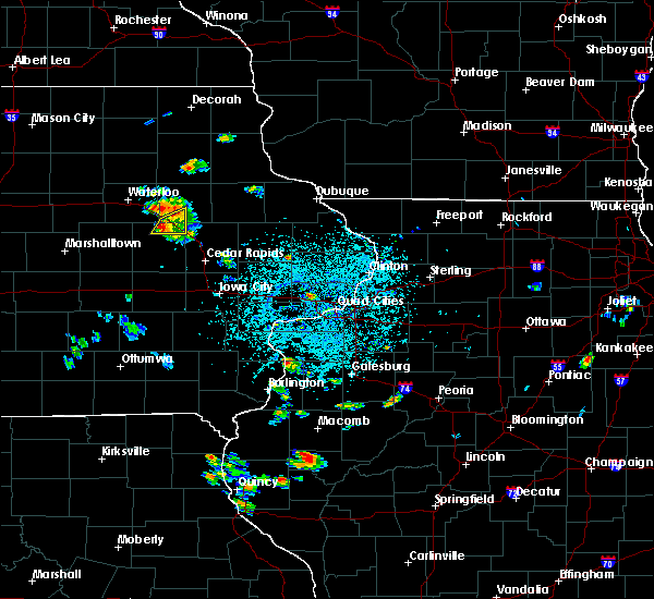 Radar Image for Severe Thunderstorms near Brandon, IA at 6/21/2020 1:31 PM CDT