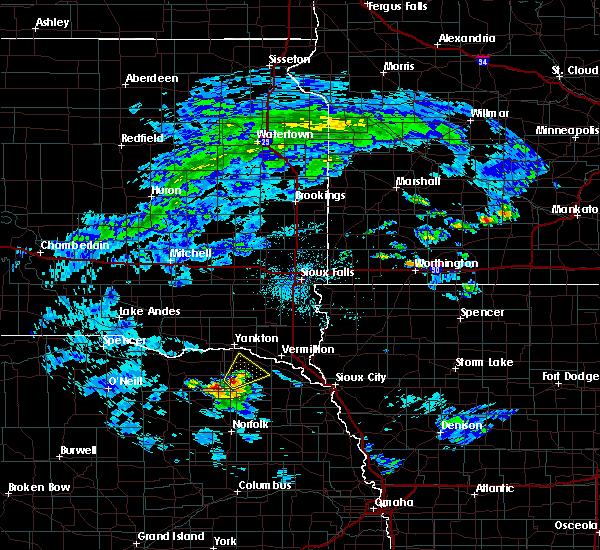Radar Image for Severe Thunderstorms near Fordyce, NE at 6/21/2020 2:00 PM CDT