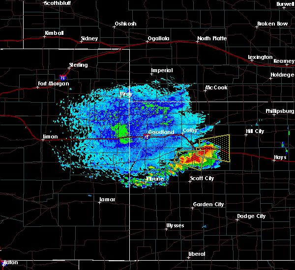 Radar Image for Severe Thunderstorms near Park, KS at 6/21/2020 2:15 PM CDT