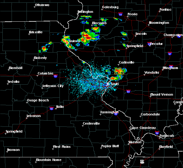 Radar Image for Severe Thunderstorms near White City, IL at 6/21/2020 2:15 PM CDT