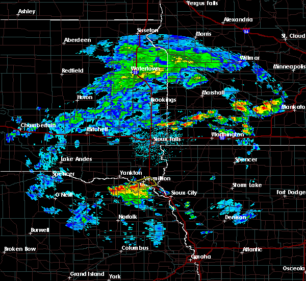 Radar Image for Severe Thunderstorms near Maskell, NE at 6/21/2020 2:32 PM CDT