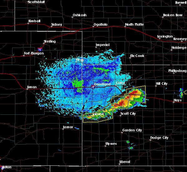 Radar Image for Severe Thunderstorms near Grainfield, KS at 6/21/2020 2:37 PM CDT
