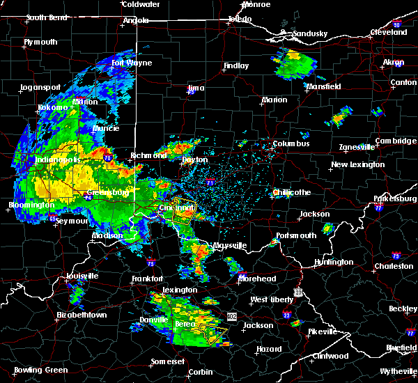 Radar Image for Severe Thunderstorms near Loveland, OH at 6/21/2020 3:54 PM EDT