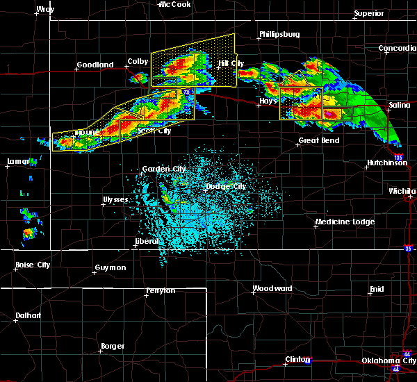 Radar Image for Severe Thunderstorms near WaKeeney, KS at 6/21/2020 3:18 PM CDT