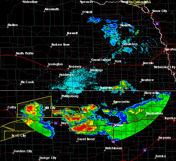 Radar Image for Severe Thunderstorms near Glen Elder, KS at 6/21/2020 3:22 PM CDT