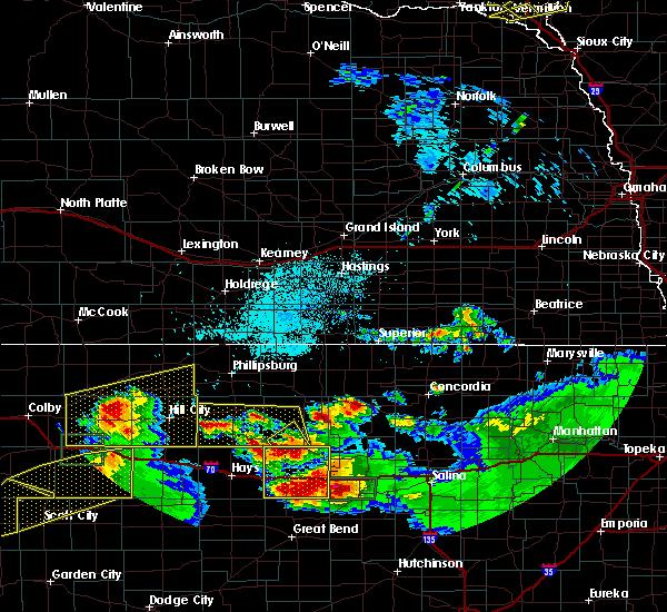 Radar Image for Severe Thunderstorms near Dorrance, KS at 6/21/2020 3:21 PM CDT