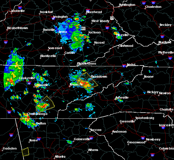 Radar Image for Severe Thunderstorms near Riceville, TN at 6/21/2020 4:23 PM EDT