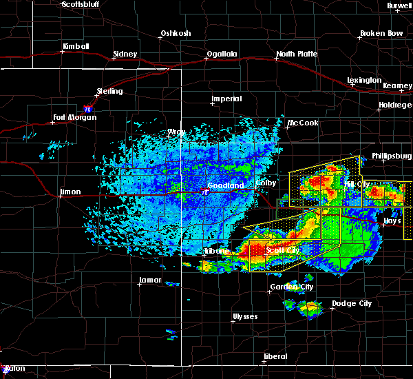 Radar Image for Severe Thunderstorms near Marienthal, KS at 6/21/2020 3:36 PM CDT