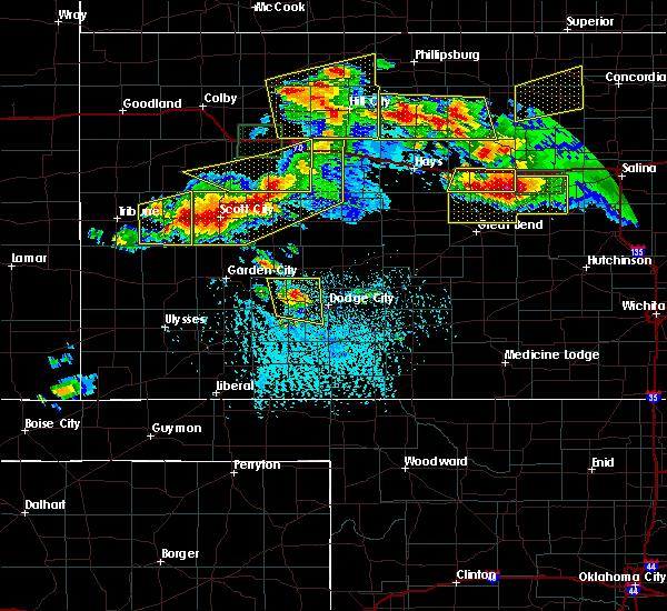 Radar Image for Severe Thunderstorms near Utica, KS at 6/21/2020 3:44 PM CDT