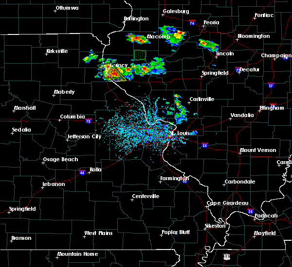 Radar Image for Severe Thunderstorms near Hull, IL at 6/21/2020 3:45 PM CDT