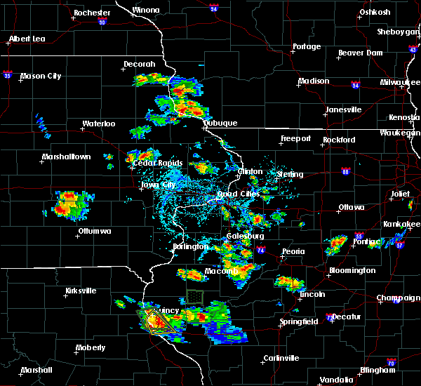 Radar Image for Severe Thunderstorms near Springville, IA at 6/21/2020 3:48 PM CDT