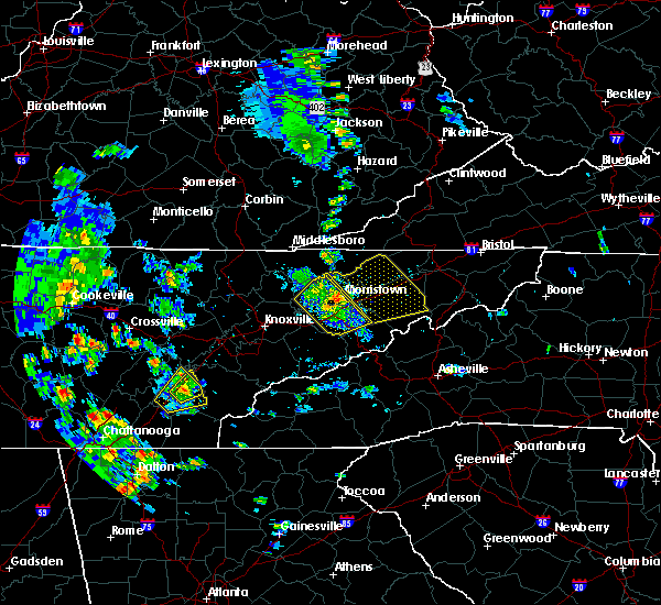 Radar Image for Severe Thunderstorms near Morristown, TN at 6/21/2020 4:55 PM EDT