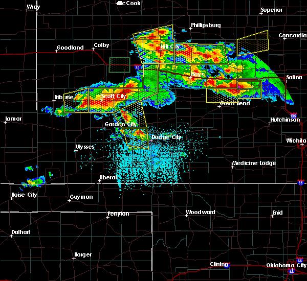 Radar Image for Severe Thunderstorms near Utica, KS at 6/21/2020 4:01 PM CDT