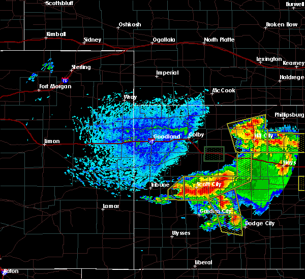 Radar Image for Severe Thunderstorms near Marienthal, KS at 6/21/2020 4:01 PM CDT