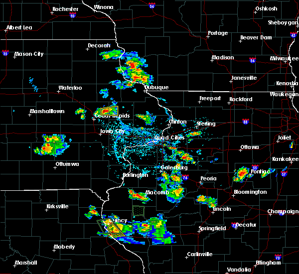 Radar Image for Severe Thunderstorms near Springville, IA at 6/21/2020 4:04 PM CDT