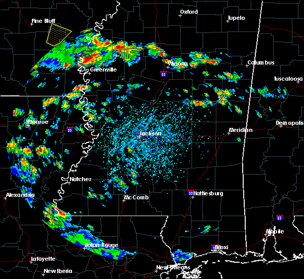 Radar Image for Severe Thunderstorms near Eudora, AR at 6/21/2020 4:06 PM CDT