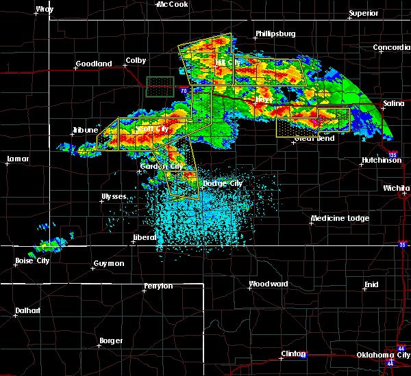 Radar Image for Severe Thunderstorms near Bison, KS at 6/21/2020 4:12 PM CDT