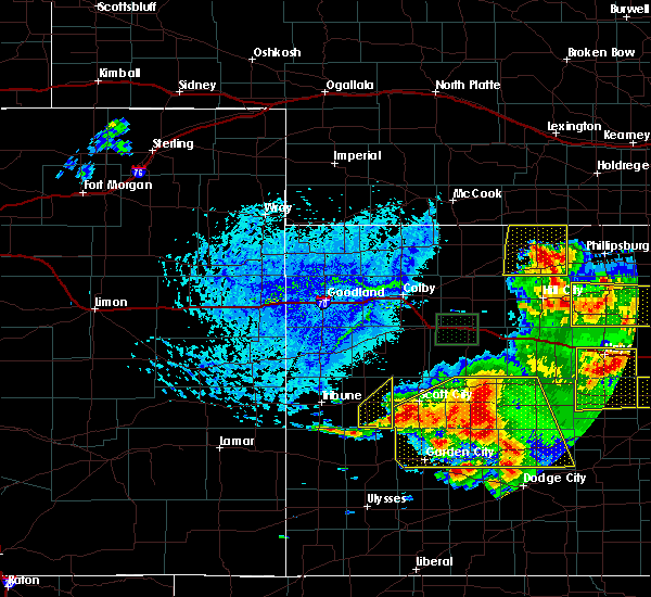 Radar Image for Severe Thunderstorms near Marienthal, KS at 6/21/2020 4:19 PM CDT