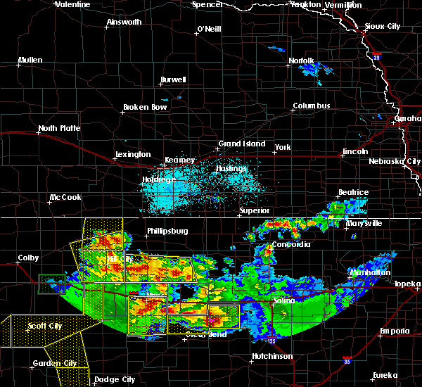 Radar Image for Severe Thunderstorms near Damar, KS at 6/21/2020 4:20 PM CDT