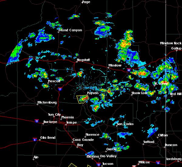Interactive Hail Maps Hail Map For Payson AZ - Weather doppler az