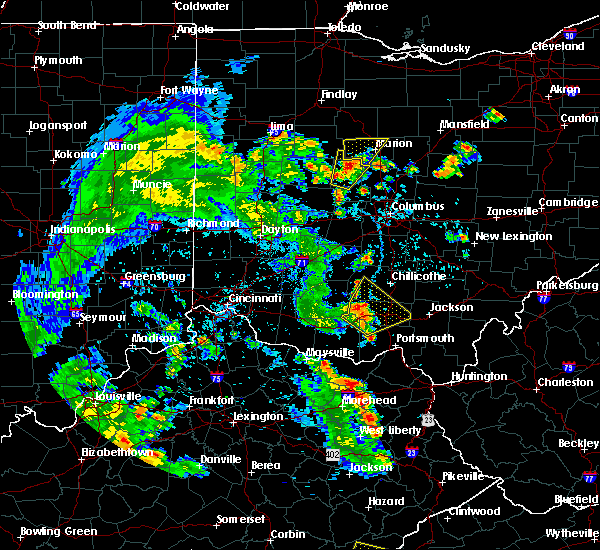 Radar Image for Severe Thunderstorms near Morral, OH at 6/21/2020 5:36 PM EDT