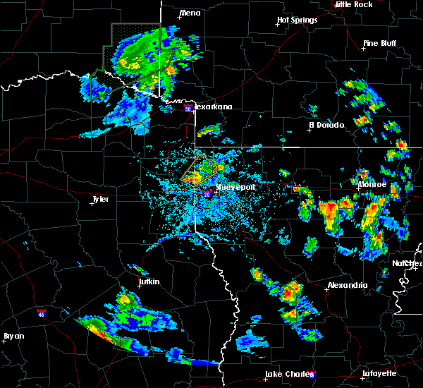 Radar Image for Severe Thunderstorms near Uncertain, TX at 6/21/2020 4:38 PM CDT
