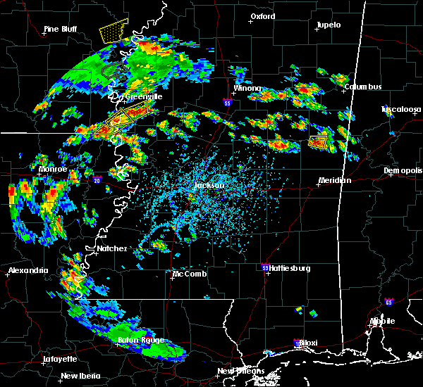 Radar Image for Severe Thunderstorms near Eudora, AR at 6/21/2020 4:41 PM CDT